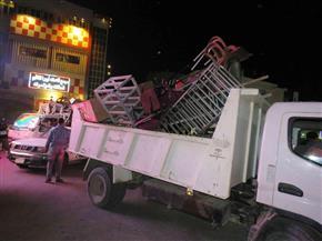 رفع 639 حالة إشغال وإزالة 52 لوحة إعلانية و43 حاجزا خرسانيا بمدن الغربية