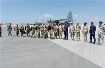 وصول القوات الأمريكية المشاركة في تدريبات النجم الساطع 2018