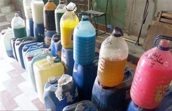 ضبط مصنع منظفات غير مرخص يستخدم مستلزمات إنتاج مجهولة المصدر بالإسكندرية