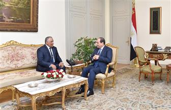 الرئيس السيسي يشهد أداء شريف سيف الدين اليمين الدستورية رئيسا للرقابة الإدارية