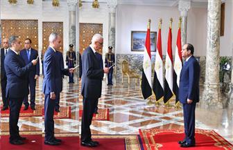 الرئيس السيسي يشهد أداء اليمين الدستورية لنواب ثلاثة وزراء