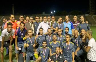 رئيس السكة الحديد يكرم فريق كرة القدم بالزقازيق لحصوله على كأس الهيئة| صور