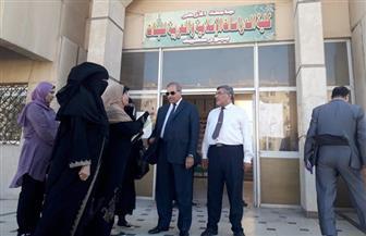 رئيس جامعة الأزهر يتفقد المدينة الجامعية للطالبات بمحافظة بورسعيد |صور