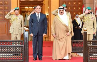 الرئيس السيسي وملك البحرين يتفقان على مواصلة العمل المشترك لتوحيد الصف العربي | صور