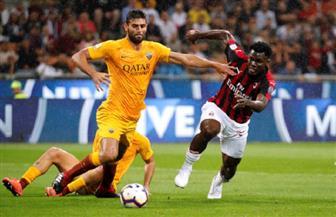 ميلان وروما يتعادلان 1/1 في الدوري الإيطالي