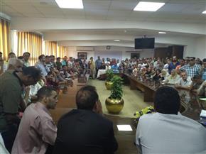 رئيس جهاز الشروق يعقد اجتماعا مع صغار الملاك بمنطقة الرابية لبدء تقنين الأوضاع