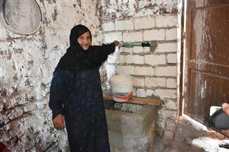 توصيل المياه للمنازل المحرومة في أرمنت بالأقصر | صور