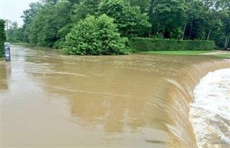 مفيض توشكى جاهز لتصريف المياه حال زيادة الفيضان