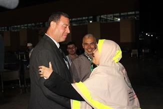 سفير فلسطين مودعا حجاج غزة: نشكر الرئيس السيسي.. وهذه هي مصر حاضنة القضية الفلسطينية
