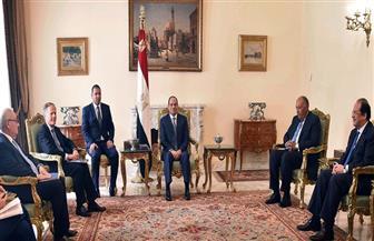 وزير خارجية إيطاليا بعد لقاء الرئيس: تطوير التنسيق المشترك