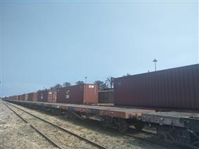النقل: تسيير رحلات منتظمة لنقل الحاويات عبر السكك الحديدية من ميناءي الدخيلة والإسكندرية إلى أسوان | صور