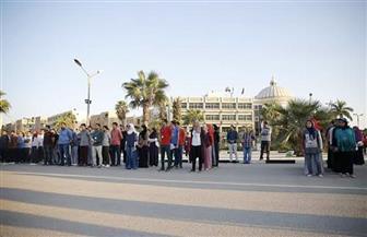 افتتاح معسكر إعداد القادة بجامعة الفيوم بمشاركة 500 طالب وطالبة| صور