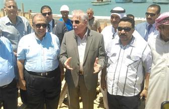 محافظ جنوب سيناء: مهلة أخيرة للانتهاء من مشروع تطوير ميناء الصيد البحري | صور