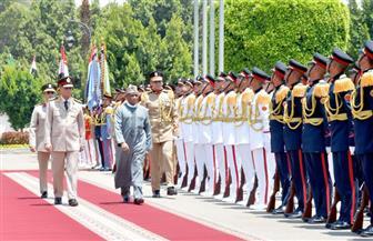 الفريق أول محمد زكي يبحث مع  وزير الدفاع النيجيري سبل التعاون العسكري ومكافحة الإرهاب