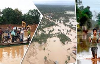 وفاة 36 شخصا و98 مفقودا بعد انهيار سد لاوس
