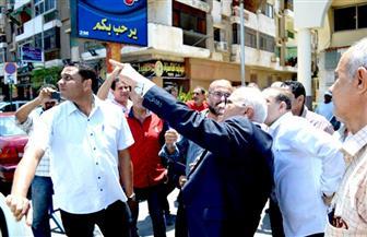 محافظ بورسعيد يتفقد مركز التطوير التكنولوجي بحي المناخ ويلتقي المواطنين| صور