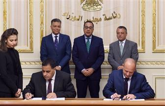 تفاصيل توقيع عقد توريد وصيانة الماكينة الحديثة للسكك الحديدية بحضور رئيس الوزراء   صور
