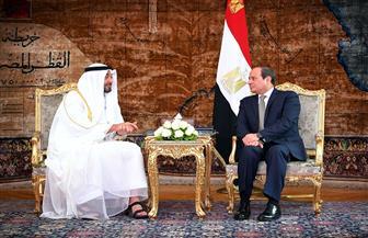 الرئيس السيسي ومحمد بن زايد يبحثان جهود البلدين في مكافحة انتشار كورونا