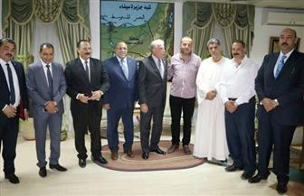 محافظ جنوب سيناء يستقبل لجنة النقل بالنواب لشرح جهود جذب الاستثمارات | صور