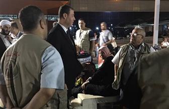 السفير الفلسطيني يودع الفوج الأخير من حجاج قطاع غزة