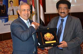 سفير السودان بالقاهرة يشيد بالمكانة المرموقة للأكاديمية العربية للعلوم والتكنولوجيا والنقل البحرى