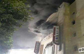 انتداب المعمل الجنائي في حريق سينما ريفولي بوسط البلد