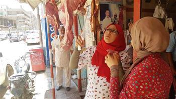 تحرير 8 محاضر تموينية وإعدام مواد غذائية في حملة على أسواق سوهاج