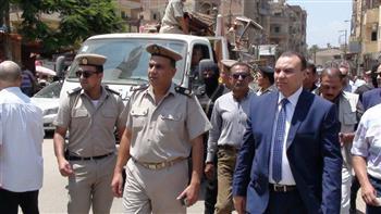 مدير أمن المنوفية يتفقد الخدمات الأمنية بمجمع محاكم شبين الكوم | صور