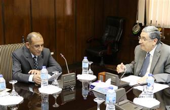"""سفير الهند يعرب لـ""""وزير الكهرباء"""" عن رغبة بلاده في التعاون مع مصر في الطاقة المتجددة   صور"""