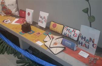 طلاب من مصر والصين يشاركون في معرض الفنون الصينية بمكتبة الإسكندرية| صور