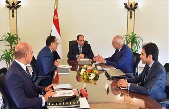 الرئيس يعقد اجتماعا مع رئيس الوزراء ومدير شركة دار الهندسة لبحث الموقف التنفيذي للمدن الجديدة
