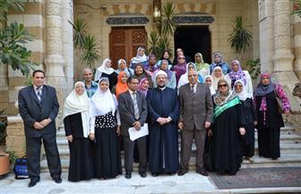 وزير الأوقاف يلتقي الواعظات قبل سفرهن لمعسكر الإسكندرية| صور