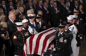 أوباما وبوش يتصدران المشيعين في وداع جون ماكين