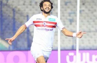 """محمود علاء يتقدم للزمالك بهدف فى مرمى """"المقاولون العرب"""""""