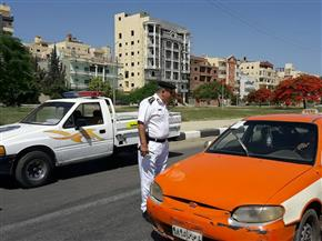 """""""مرور"""" الإسماعيلية يضبط 790 مخالفة في حملة مكبرة"""