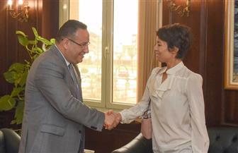 محافظ الإسكندرية يستقبل قنصل فرنسا لتوطيد العلاقات في ريادة الأعمال | صور
