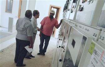 وكيل كهرباء الأقصر يتفقد لوحة توزيع كهرباء الفندقية   صور