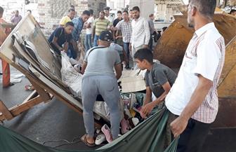 تحرير 663 محضر إزالة إدارية و85 محضر إشغال خلال حملات بأحياء القاهرة | صور
