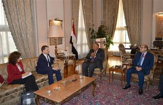 """المفوض العام لـ""""الأونروا"""" يشكر مصر لدعمها المنظمة خلال رئاستها لجنتها الاستشارية   صور"""