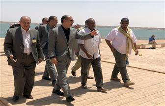 وزير الطيران يتفقد مطاري أبو سمبل وأسوان في إطار الاستعداد للاحتفال بتعامد الشمس