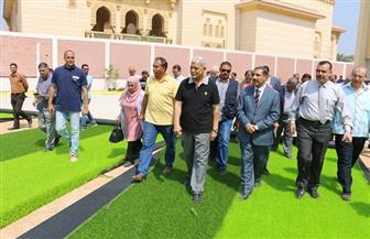 محافظ المنوفية يتفقد مدرسة العربي للتكنولوجيا التطبيقية |صور
