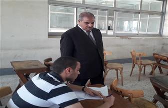 رئيس جامعة الأزهر يتفقد لجان امتحانات الدراسات العليا بكلية الطب | صور