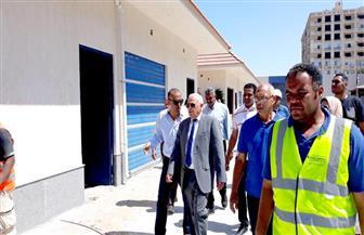محافظ بورسعيد يوجه بسرعة الانتهاء من سوق الأسماك الجديدة | صور