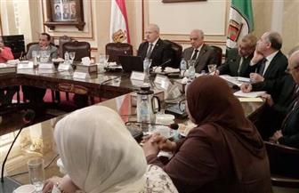 """""""الخشت"""" يستعرض خطة جامعة القاهرة لاستقبال الطلاب الجدد وتعريفهم بنظام الدراسة"""
