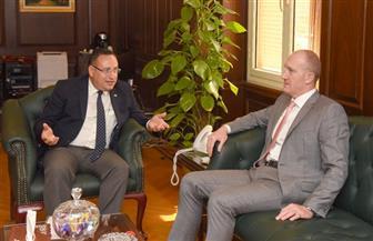 محافظ الإسكندرية يلتقي القنصل اللبناني ويعلن تأسيس صندوق لاستثمار أصول المحافظة | صور