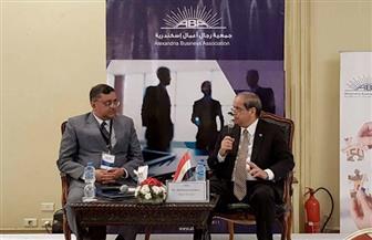 """""""رجال أعمال الإسكندرية"""" تلتقى وفدا هنديا لبحث سبل التعاون التجارى والاستثمارى"""