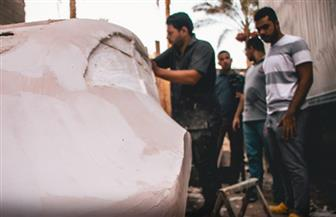 """طلاب """"هندسة القاهرة"""" يبتكرون نموذج سيارة كهربائية للتنقل داخل المدن   صور"""