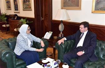 وزيرة الصحة تبحث مع نظيرها الأردني تعزيز سبل التعاون في مجالي الصحة والدواء