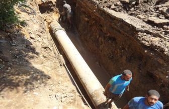 """تسرب غزير للمياه داخل عدد من منازل """"أبو شوك"""" في أسوان"""