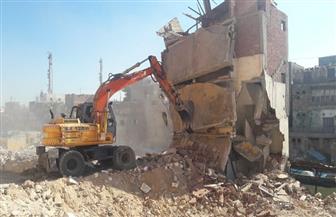 إزالة 8 عقارات على ترعة الخندق في الإسكندرية وتسكين القاطنين بمشروع طلمبات الماكس